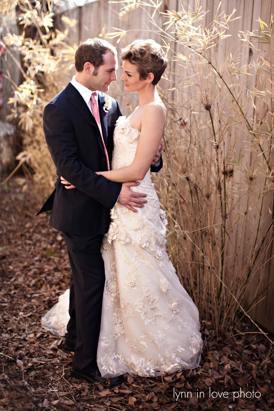 Dallas Winter Wedding Portraits by