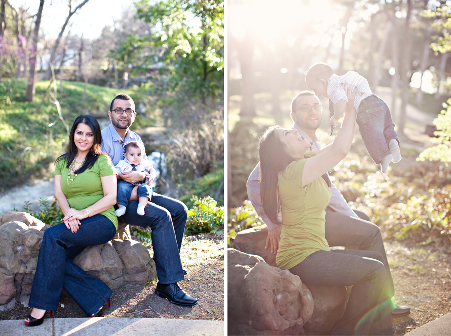 Sun Flare for Dallas Family Portraits
