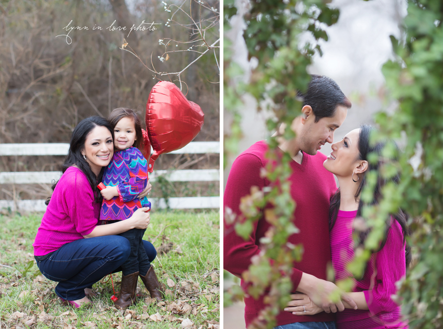 Mia, Kristin, And Carlosu0027s Valentine Session In Bright Colors (red And  Pink) ...