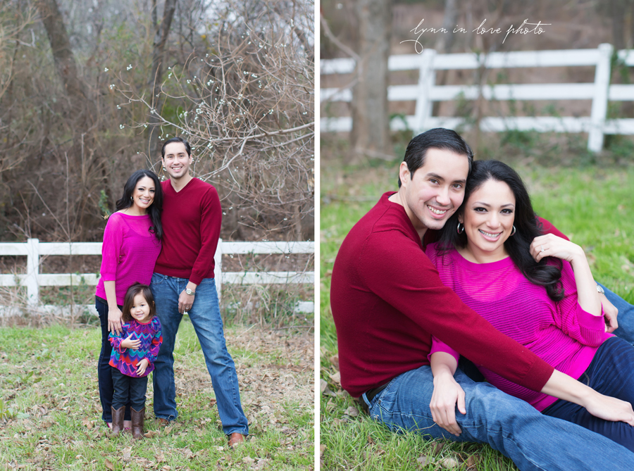 ... Mia, Kristin, And Carlosu0027s Valentine Session In Bright Colors (red And  Pink) ...