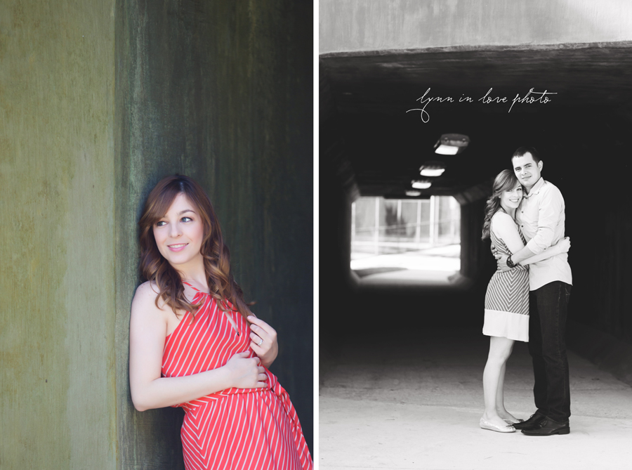 Ingrity and Michael's Anniversary Love Shoot in Highland Park tunnel by Lynn in Love Photo, Dallas and Houston Portrait photographer