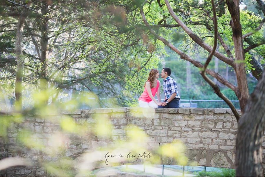Romantic couple's shot Love Shoot in Highland Park by Lynn in Love Photo, Dallas and Houston Portrait photographer