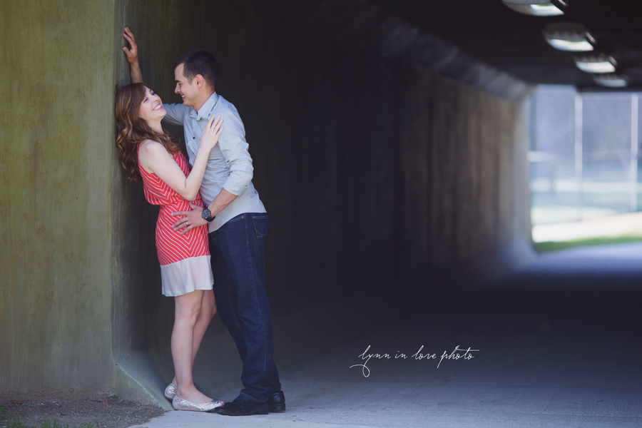 Happy couple for their love shoot in Highland Park by Lynn in Love Photo, Dallas and Houston Portrait photographer