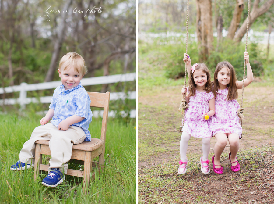 Patty and Cary's cute grandchildren Portraits at the Arlington studio by Lynn in Love Photo, Dallas and Houston Family Photographer