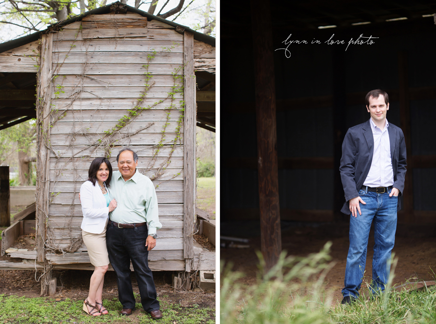 Patty and Cary's Family Outdoor Portraits at the Arlington studio by Lynn in Love Photo, Dallas and Houston Family Photographer
