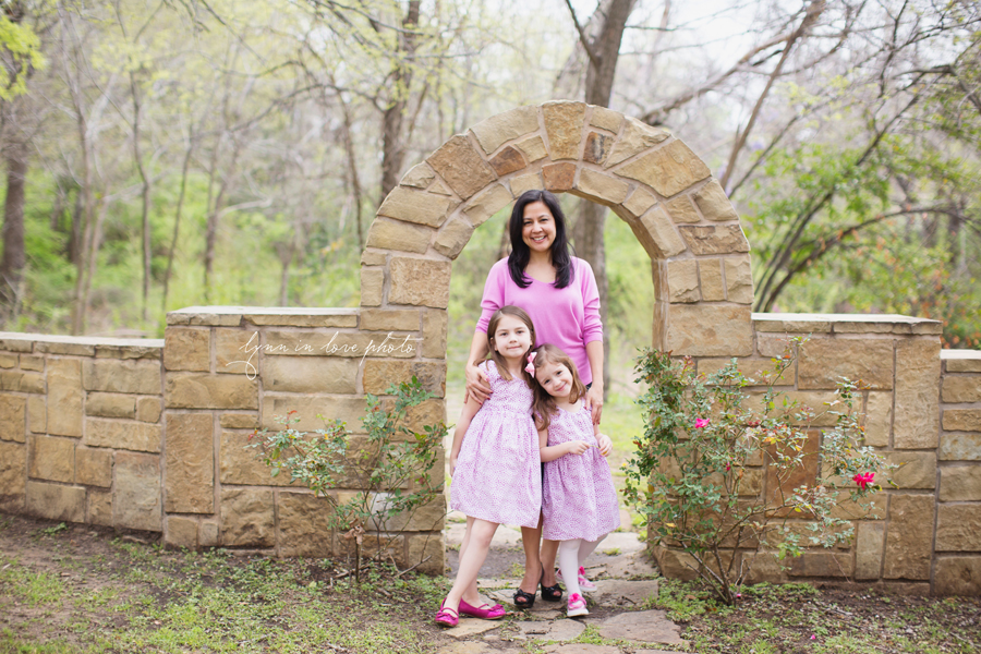 Grandaughters at the Arlington studio by Lynn in Love Photo, Dallas and Houston Family Photographer
