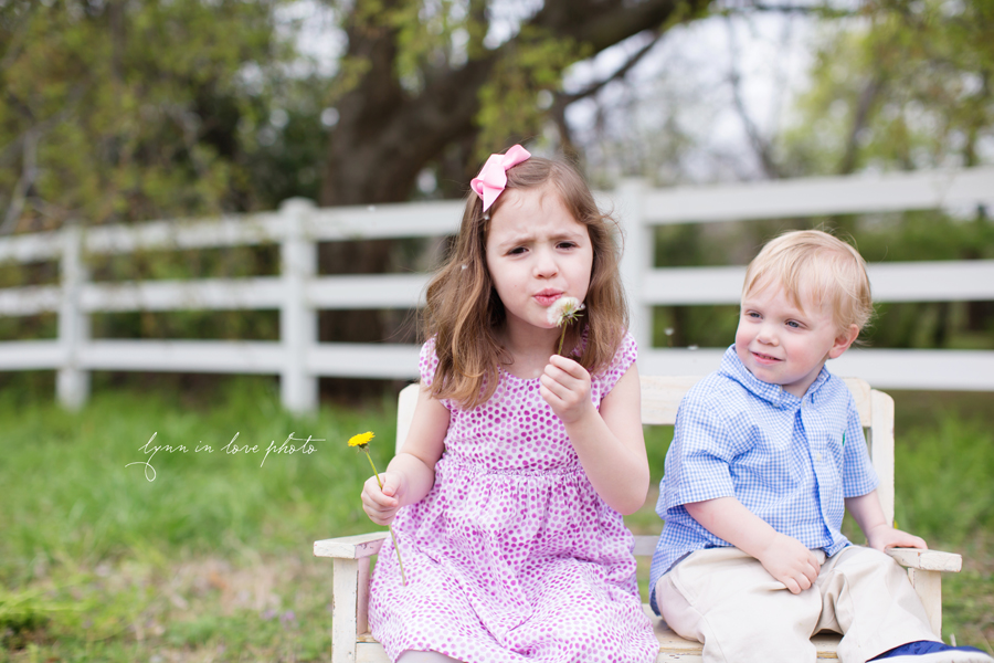 Grandchildren's Outdoor Portraits at the Arlington studio by Lynn in Love Photo, Dallas and Houston Family Photographer