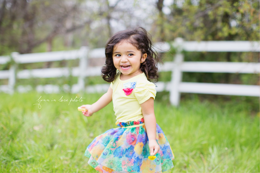 The sweetest Rhea's 2 year old baby girl session at the outdoor studio by Lynn in Love Photo, Dallas and Houston Child Photographer