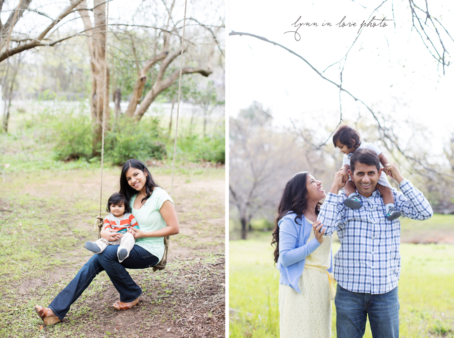 Varun, sweet 7 month Baby boy in spring outdoor portrait session at studio by Lynn in Love Photo, Dallas and Houston children photographer