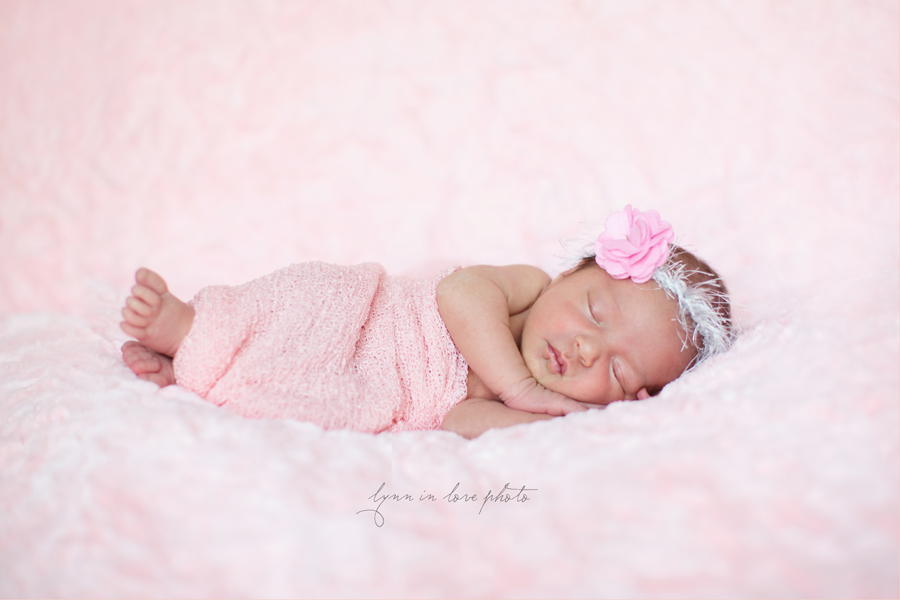 Ameya Newborn Session is pretty in pink by Lynn in Love Photo, Dallas and Houston Newborn Photographer