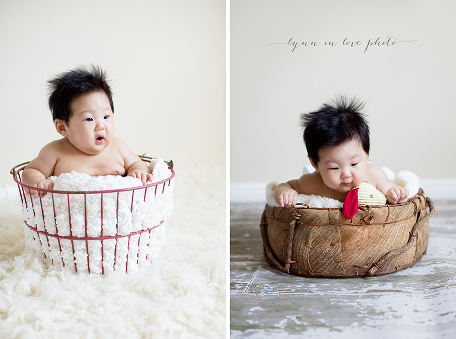 Daniel at 4 months old baby by Lynn in Love Photo, Dallas and Houston Baby Photographer