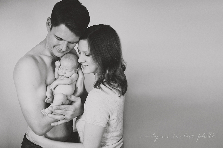 Otto lifestyle newborn session by Lynn in Love Photo, Houston newborn photographer